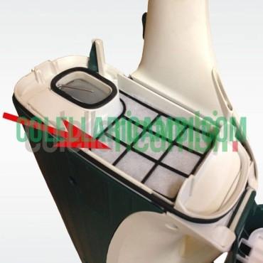Aspirapolvere Vorwerk Folletto VK135 con HD13 Rigenerato Originale con Garanzia 24 Mesi