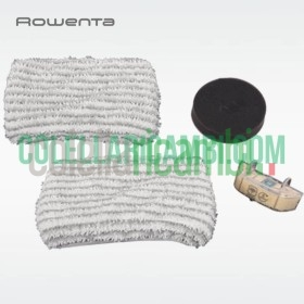 Kit Sostituzione Filtro Schiuma, 2 Salviette in Microfibra Cartuccia Anticalcare