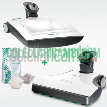 Set Battitappeto EB400 e Lavatappeto VF200 Originale Vorwerk Folletto x VK200