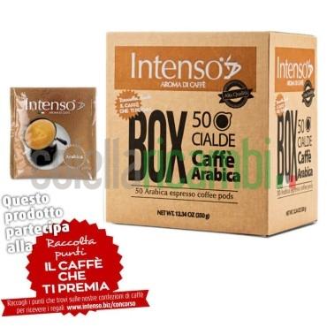 Box 50 Cialde Intenso Aroma Di Caffe' Miscela Arabica - 1 Pacco da 50 Cialde