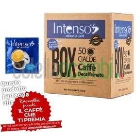Box 50 Cialde Intenso Aroma Di Caffe' Miscela Decaffeinato - 1 Pacco da 50 Cialde