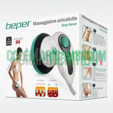 Massaggiatore Anticellulite 4 Testine Rotanti Relax Donna Beper