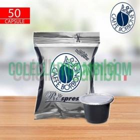 50 Capsule Respresso Caffe Borbone Miscela Nera Compatibilita' Nespresso