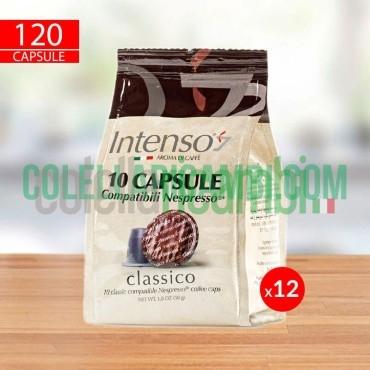 120 Capsule Caffè Intenso Miscela Classico Compatibili Nespresso
