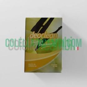 Deoclean Cristalli Deodoranti Note di Vaniglia 6 buste da 50gr