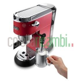 Macchina da Caffè Espresso Manuale Acciaio Inossidabile DeLonghi EC685R