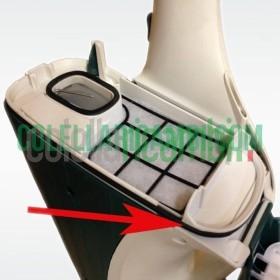 Guarnizione Unità Filtro Porta Sacchetti Compatibile Vorwerk per Folletto VK135 VK136