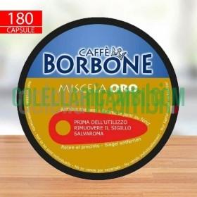 180 Capsule Caffè Borbone Miscela Oro Compatibili Nescafè Dolce Gusto