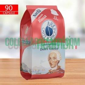 Caffè Borbone Compatibile Dolce Gusto Miscela Rossa - Confezione Da 90 Pezzi Capsule