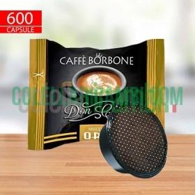 600 Capsule Compatibili A Modo Mio Caffè Borbone Don Carlo Miscela Oro