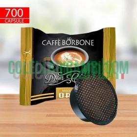 700 Capsule Borbone Don Carlo Miscela Oro Compatibili Lavazza a Modo Mio