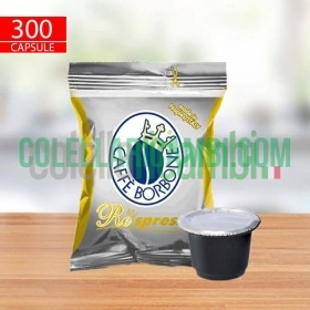 300 Capsule Compatibili Nespresso Caffè Borbone Respresso Miscela Oro