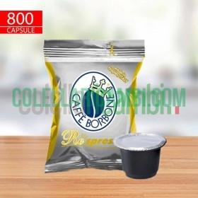 800 Capsule Compatibili Nespresso Caffè Borbone Respresso Miscela Oro