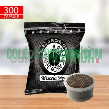 300 Capsule Caffè Borbone Miscela Nera 36 Mm Espresso Point