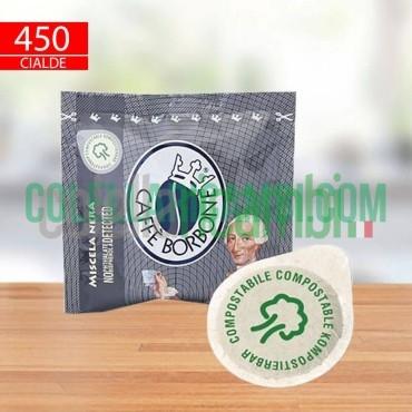 450 Cialde Filtro Carta 44 Mm Caffè Borbone Miscela Nera