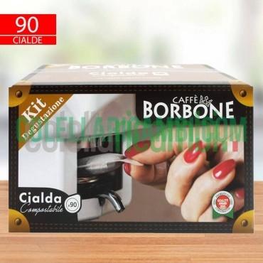 Kit Degustazione 90 Cialde Caffe Borbone Filtro Carta 44 ESE