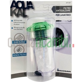 Aquasan Filtro Anticalcare per Lavatrici, Bianco
