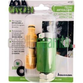 Aquasan Filtro Magnetico Anticalcare per Micro irrigazione, Verde