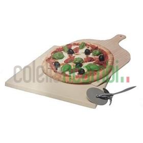Pietra Per Cottura Professionale Al Forno + Pale + Rotella Taglia PIzza Elettrolux