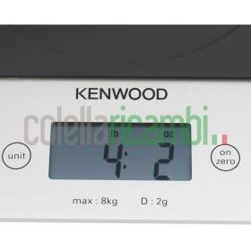 Kenwood Bilancia Elettronica da Cucina, Elettrica Nero Vetro