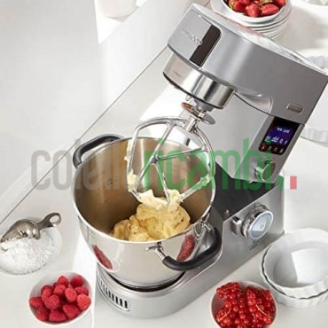 Kenwood Ciotola Speciale per Cooking Chef Gourmet, 6.7 Liters, Acciaio Inossidabile, Silver