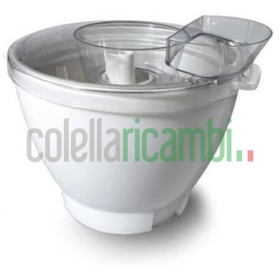 Kenwood Chef Gelatiera Accessorio Kenwood per Impastatrice Planetaria, 1 litro