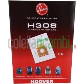Hoover Sacchetti Purefit Per Aspirapolvere, Confezione da 5