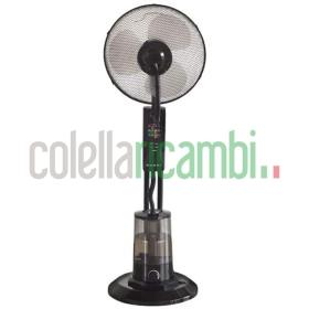 Beper Ventilatore Con Nebulizzatore Nero