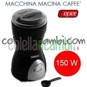 Macina Caffè Elettrico 150W 70g Beper