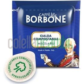 150 Cialde Caffè Borbone Miscela Blu Ese 44mm Filtro Carta