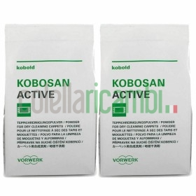 2 Buste Kobosan Active 500G Battitappeto Folletto Originali Vorwerk