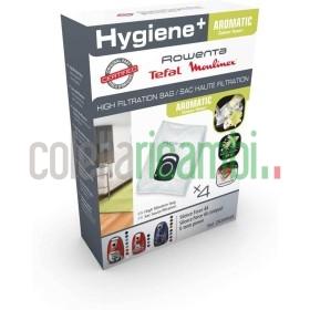 Sacchetti Originali Rowenta Hygiene In Cotone Cilindrico