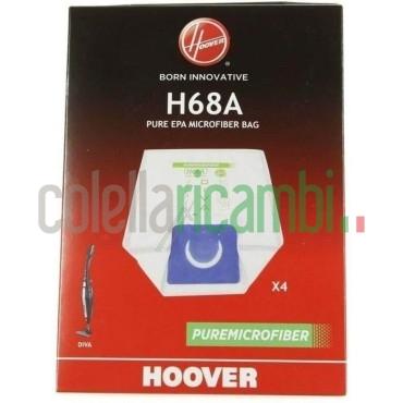 Sacchetti H68A Originale Hoover PureHepa