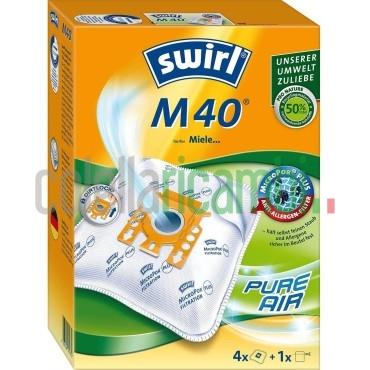 Sacchetti Aspirapolvere Swirl Compatibili Miele Orange