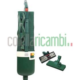 Aspirapolvere Vorwerk Folletto VK120 Rigenerato Originale Con Spazzola Con Ruote