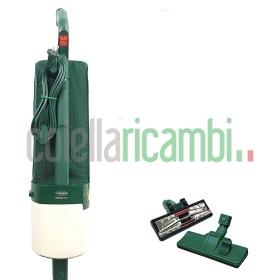 Aspirapolvere Vorwerk Folletto VK121 Rigenerato Originale Con Spazzola Con Ruote