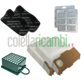 Kit Risparmio Folletto Vk 130 Vk 131 In Microfibra