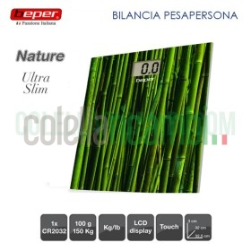 Bilancia Pesapersone Digitale Nature Ultra Slim Beper