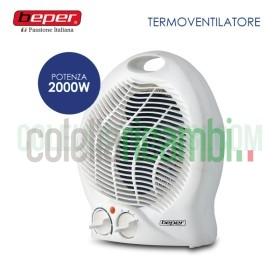 Termoventilatore Stufa Caldobagno 1000/2000W Beper