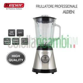 Frullatore Professionale Alden Acciaio e Vetro 1,5L 600W Beper