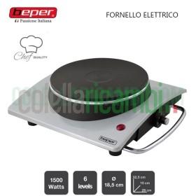 Fornello Elettrico con Pietra in Ghisa 1500W Beper