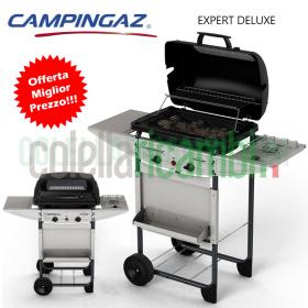 Barbecue a Gas Campingaz Expert Deluxe Sistema Roccia Lavica e Fornello Laterale