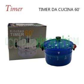Timer Orologio Contaminuti da Cucina 60' Pentolina