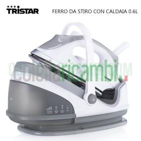 Ferro da Stiro con Caldaia 0.6L Piastra in Acciaio ST-8912 Tristar