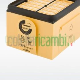 Filtro Hepa Folletto VK135 VK136 Originale Vorwerk Microfiltro Igienico