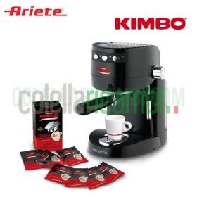 Macchina da Caffè Ariete Konsuelo Kimbo Plus + 54 Cialde Omaggio 850W