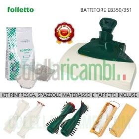 Battitappeto Folletto EB350 EB351 Rigenerato Originale Vorwerk