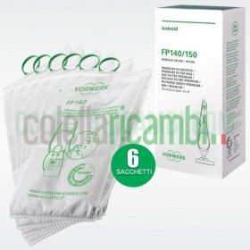 Sacchetti Originali Vorwerk Folletto VK 140-150 (6 PZ)