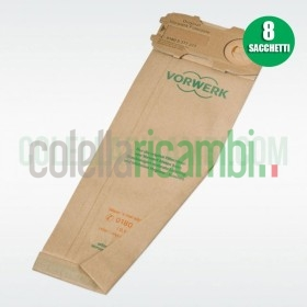 Sacchetti Originali Vorwerk Folletto VK120 121 122 (8 PZ)