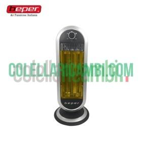 Stufa con Pannello a 2 Elementi in Fibra di Carbonio Beper